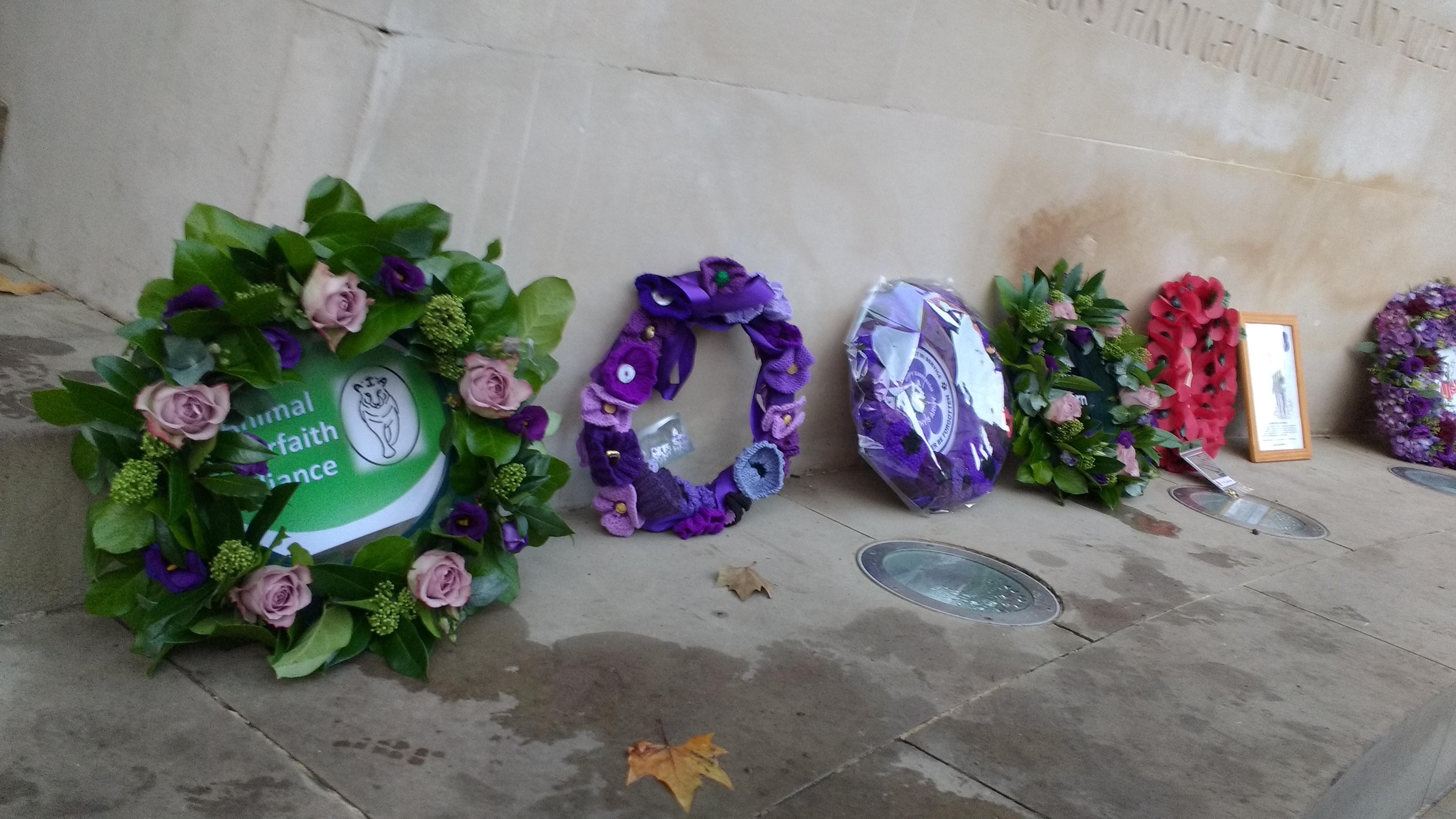 AIA wreath