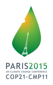 Paris 2015 Climate Change Conference logo